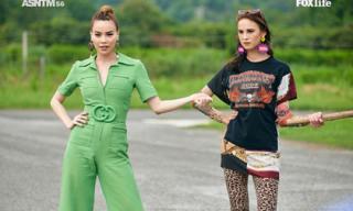 Hồ Ngọc Hà nhiệt tình hướng dẫn và thị phạm cho các thí sinh tại Asia's Next Top Model
