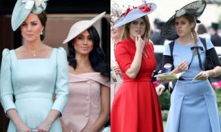 Cuộc chiến ngầm giữa cặp chị dâu Kate - Meghan và hai công chúa 'em chồng' trong Hoàng gia Anh