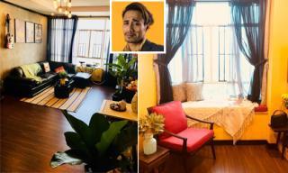 Không gian đẹp như mơ, nhiều góc 'sống ảo' trong căn hộ của vợ chồng Phạm Anh Khoa