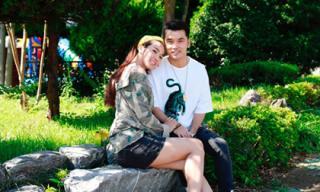 Sau màn cầu hôn lãng mạn, vợ chồng Ưng Hoàng Phúc hạnh phúc đi du lịch Hàn Quốc