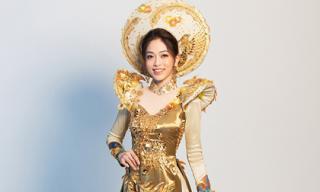 Hé lộ bộ trang phục dân tộc mà Phương Nga mang đến Hoa hậu Hòa bình Quốc tế 2018