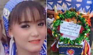 Mỹ nhân Myanmar 19 tuổi chết thảm vì cầm nhầm súng thật đóng cảnh tự sát
