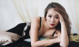 Hoa hậu Ngô Phương Lan bị chèn giây thần kinh nằm liệt giường trong cơn đau triền miên