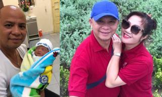 Vợ chồng Anh Tuấn 'Người phán xử tiền truyện' cùng bà xã Nguyệt Hằng đón con thứ 4