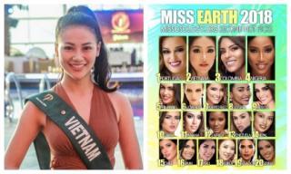 Đại diện Việt Nam được Missosology dự đoán lọt Top 2 Miss Earth 2018