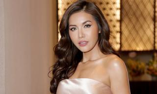Minh Tú ngày càng nhuận sắc và đậm khí chất 'Hoa hậu' khi xuất hiện tại sự kiện