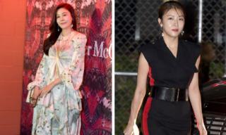 Kim Ha Neul tái xuất với bộ đồ rườm rà, Ha Ji Won lộ khuôn mặt bóng dầu kém duyên