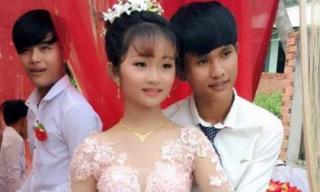 Lễ đính hôn gây chú ý nhất mạng xã hội hôm nay: Cô dâu 12 tuổi, chú rể 14 tuổi?