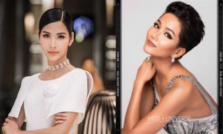 Hoàng Thùy bức xúc khi bị tố không like ảnh của H'Hen Niê trên fanpage Miss Universe 2018