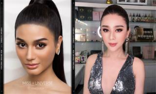 Dân mạng bất ngờ khi nhan sắc của Hoa hậu Hoàn vũ Venezuela 2018 giống Lâm Khánh Chi