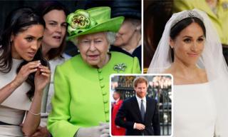 Nữ hoàng Anh cảnh cáo Hoàng tử Harry về thái độ 'được voi đòi tiên' của Meghan Markle