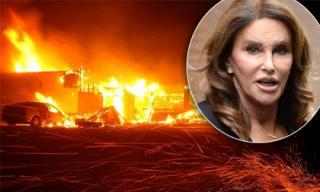 Nhà của bố Kim bốc cháy dữ dội, nhiều sao Hollywood có nguy cơ mất nhà vì cháy rừng