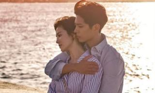 """Fan kêu gào khi thấy """"gái đã có chồng"""" Song Hye Kyo được trai trẻ ôm từ phía sau say đắm"""