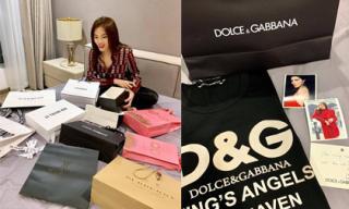 Hoa hậu Kỳ Duyên được tặng cả 'núi' hàng hiệu đắt tiền trong dịp sinh nhật