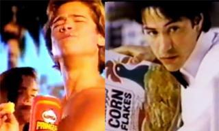 Những mẩu 'quảng cáo vặt' thuở vất vả kiếm sống khiến các sao Hollywood phải xấu hổ mỗi khi nhìn lại