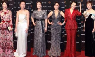 Củng Lợi và Lưu Gia Linh cùng loạt sao Hoa ngữ hàng đầu đổ bộ thảm đỏ Kim Mã lần thứ 55