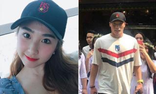 Dù dự bị trận Việt Nam - Malaysia, thủ môn Bùi Tiến Dũng vẫn được bạn gái gửi gắm điều này