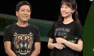 Hari khiến Trường Giang 'đứng hình': 'Anh là người duyên dáng nhất showbiz, chỉ sau Trấn Thành'
