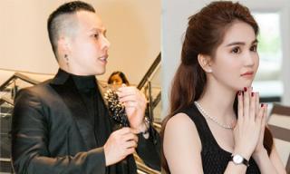 Luôn sát cánh bên Vũ Khắc Tiệp, vì sao Ngọc Trinh lại vắng mặt tại buổi họp báo Đêm hội chân dài 12 tại Hà Nội?