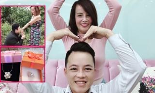 Cô dâu 62 tuổi tái hiện cảnh cầu hôn cùng lời nhắn nhủ 'ngọt lịm' tới chồng trẻ