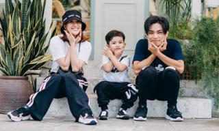 Phan Hiến lại tung loạt khoảnh khắc gia đình hạnh phúc khiến fans 'lụi tim'