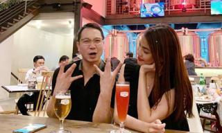 Lan Khê đẹp e ấp bên chồng doanh nhân khi đi hẹn hò