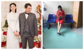 Trước ngày cưới lại lộ hình ảnh được cho là Á hậu Thanh Tú đi khám thai tại bệnh viện?