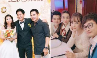 Dương Cẩm Lynh, Ngân Khánh... hội ngộ trong đám cưới của đạo diễn Lê Minh