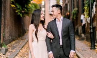 Hé lộ ảnh đính hôn của hot girl Mie Nguyễn và bạn trai