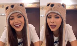 Minh Tú trải lòng chuyện vừa ăn mì gói vừa khóc vì stress tại Miss Supranational 2018