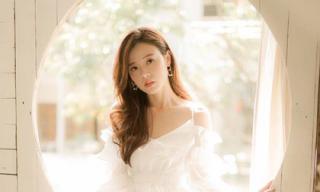 Xao xuyến trước vẻ đẹp trong veo của Midu ở tuổi 29