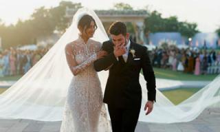 Ảnh cưới đẹp như truyện cổ tích của Nick Jonas và Hoa hậu thế giới Priyanka Chopra
