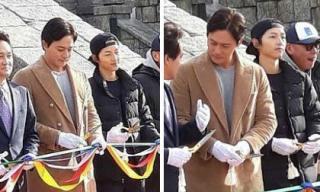 Song Joong Ki và Jang Dong Gun lần đầu tiên xuất hiện sau khi công bố kết hợp trong phim bom tấn cổ trang