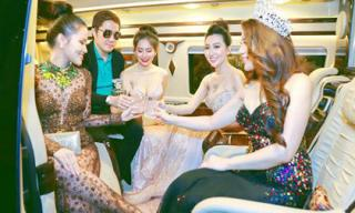 'Phát sốt' với cuộc sống sang chảnh của ông bầu Hoa hậu số một Việt Nam