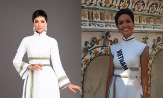 Phản ứng của H'Hen Niê khi bị tố mặc đồ không đúng ý tưởng ban đầu của stylist tại Miss Universe 2018