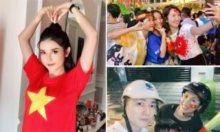 Sao Việt vỡ òa cảm xúc khi đội tuyển bóng đá Việt Nam thắng Philippines, vào chung kết AFF Cup