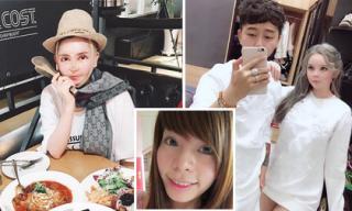 'Hot girl dao kéo' Vân Tokyo tiếp tục 'đập đi sửa lại' bất chấp kiêng cữ sau sinh