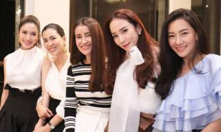 Tiệc sinh nhật toàn mỹ nhân của 'Nữ hoàng giải trí' Thái Lan - Aum Patcharapa