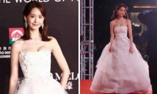 Yoona khoe vòng một căng đầy trong bộ đầm trắng lộng lẫy như công chúa
