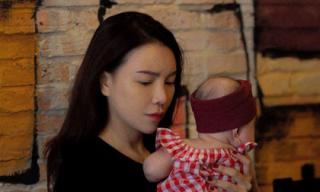 Trà Ngọc Hằng chính thức thừa nhận đã sinh con gái được 4 tháng và làm mẹ đơn thân