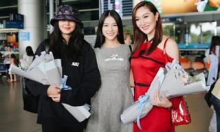 Hoa hậu Phương Khánh rạng rỡ đón cựu Hoa hậu Trái đất Karen Ibasco đến Việt Nam