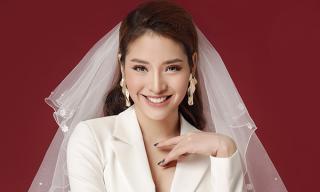 Đón đầu mùa cưới, Phương Trinh Jolie hóa cô dâu ngọt ngào