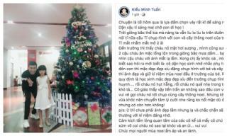 Lần đầu đăng status sau scandal ầm ĩ, Kiều Minh Tuấn lại viết về người đặc biệt này