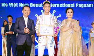 Nguyễn Bảo Linh xuất sắc đăng quang ngôi vị nam vương tại xứ Chùa Vàng
