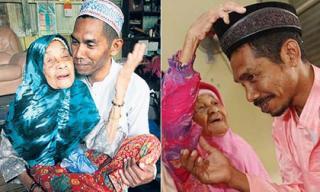 Lạ lùng cụ bà 109 tuổi vẫn lấy chồng thứ 23, chồng ít hơn tới 70 tuổi