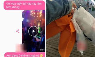 Muốn người yêu bất ngờ ngày sinh nhật, chàng trai phi từ Hà Nội về Hải Phòng thì ngỡ ngàng nhìn người yêu hôn anh nuôi