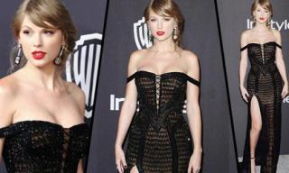 Tiệc hậu Quả Cầu Vàng 2019: Taylor Swift đã qua thời vòng một lép, tự tin 'chiếm sóng' loạt mỹ nhân Hollywood