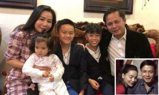 Sau thời gian chia tay Hồ Ngọc Hà, đại gia kim cương Chu Đăng Khoa hạnh phúc bên vợ con?