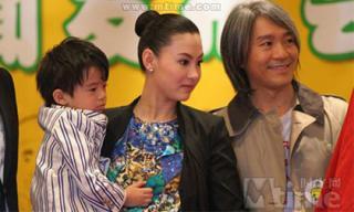 Con trai thứ 3 tiếp tục bị gán ghép với 'ông bố' Châu Tinh Trì, phía Trương Bá Chi mệt mỏi lên tiếng