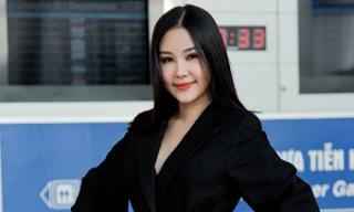 Vừa tuyên bố kiện tụng, Ngân Anh đã lên đường tham dự Miss Intercontinental 2018